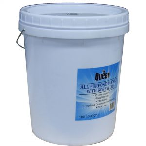 Bucket With Screw Lid 30L White
