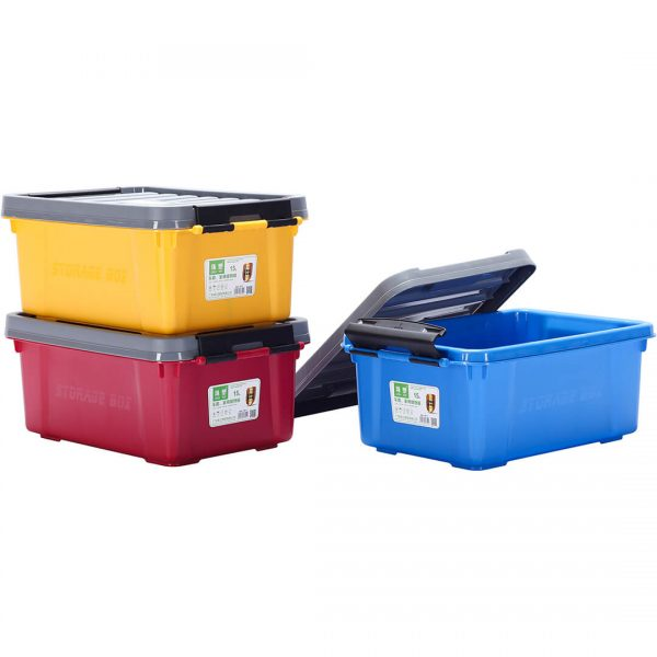 H/D Storage Box 15L Plastic